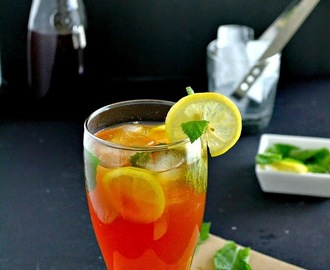 Lemon Iced Tea - How to Make Iced Tea