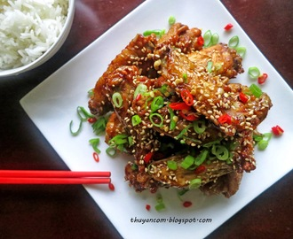 Canh Ga Chien Chua Ngot - Sweet and Sour Chicken Wing