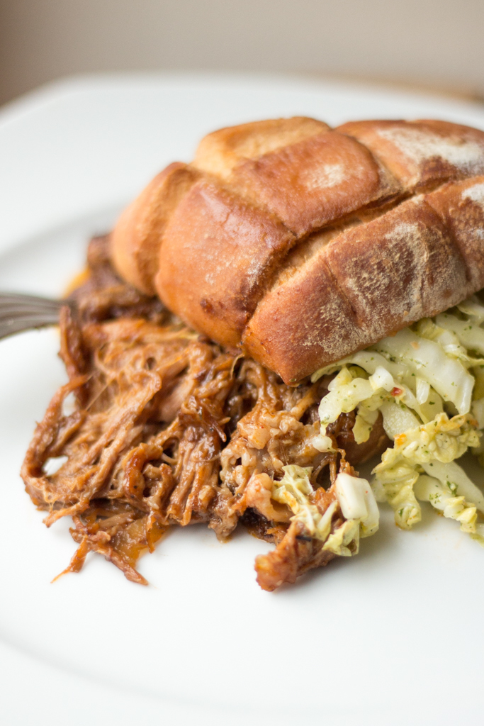Pulled Pork aus dem Slow Cooker