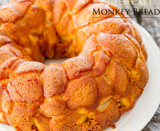 Pumpkin Cheesecake Monkey Bread