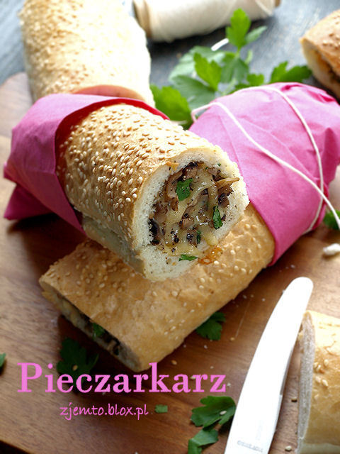 Hot dog z PRLu - pieczarkarz