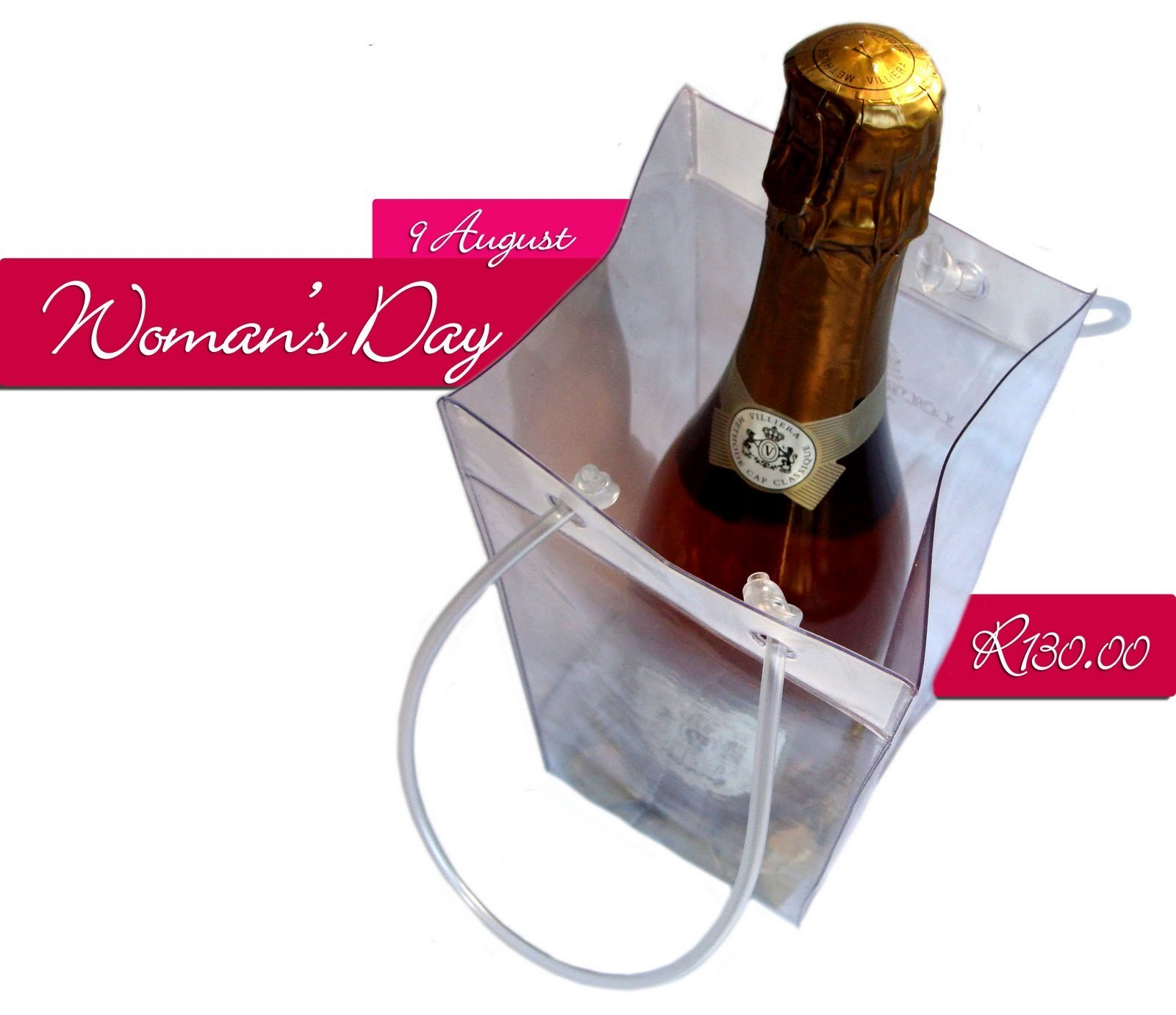 Celebrate Woman's Day with Pink Bubbly