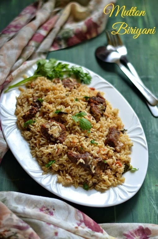 Mutton Biriyani - Pressure Cooker Method