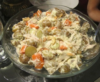 CHICKEN and BABY POTATO SALAD