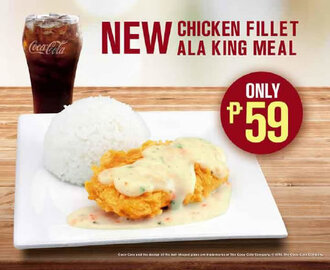 McDonald's new king of 'sulit' meals, the Chicken Fillet ala King