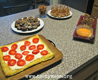 Family Game Night #2 {AKA An Excuse To Serve Appetizers}