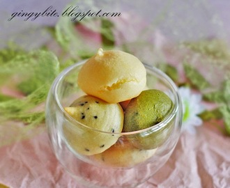 Korean QQ Mochi Bread Without Premix