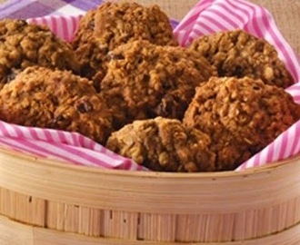 Graham Oatmeal Raisin Cookies