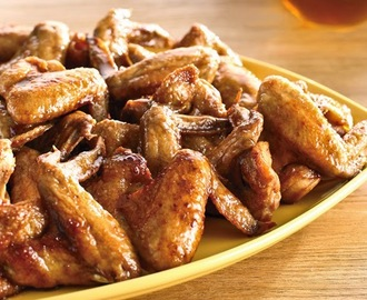 Crispy Wings with Honey Tamarind Glaze