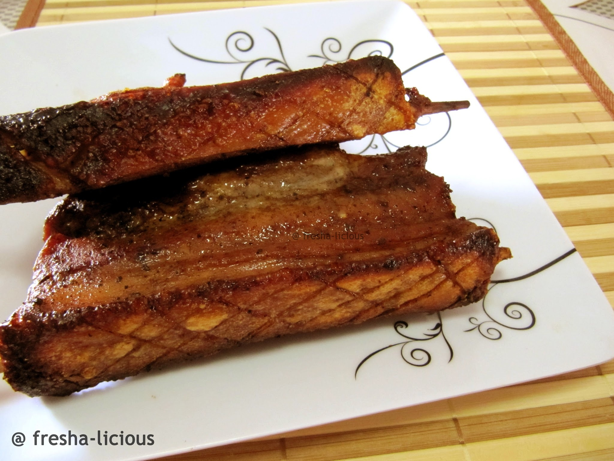 Sio Bak (Chinese's Roasted Pork Belly)