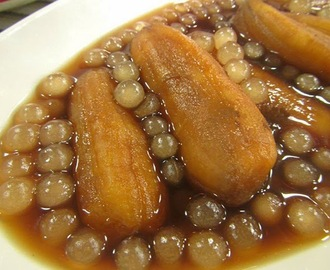 Minatamis na Saba with Sago Recipe