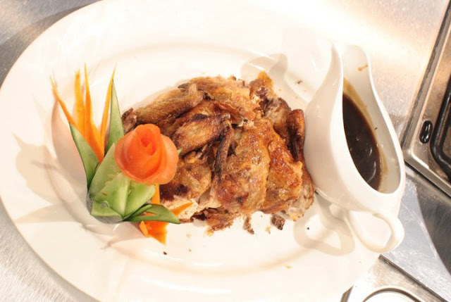 Crispy Chicken in Peking Sauce Recipe