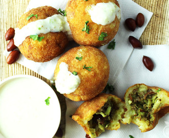 Farali Pattice | Mashed Potato Patties Stuffed With Coconut & Dry Fruits