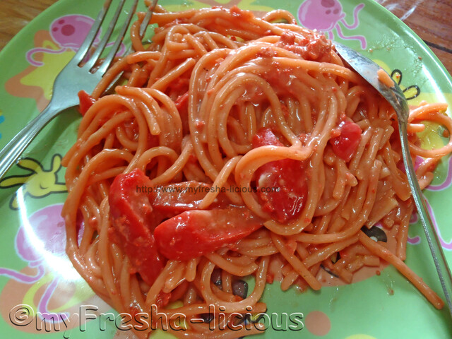 Pinoy Sweet Red Spaghetti