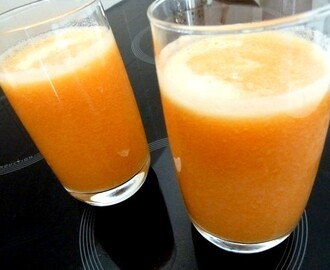 SMOOTHIE MELON ORANGE AU TILLEUL AUBIER