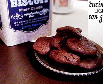 Biscotti light al cacao e cannella