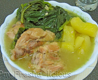 Chicken and Alugbati Soup