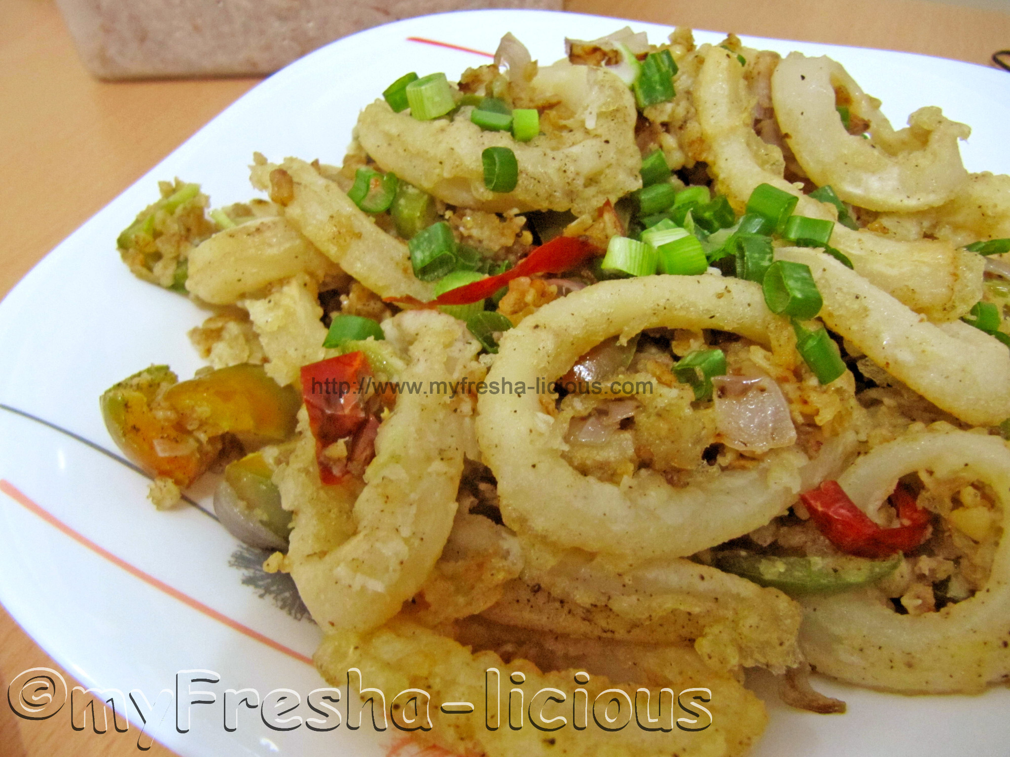 Hot & Spicy Oatmeal Squid
