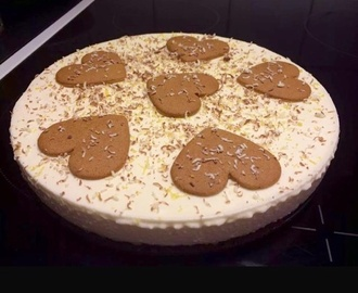 Pepparkaks cheesecake
