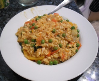 Smoked Haddock Paella (sort-of à la Slimming World)