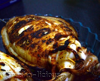 Grilled Stuffed Cuttlefish