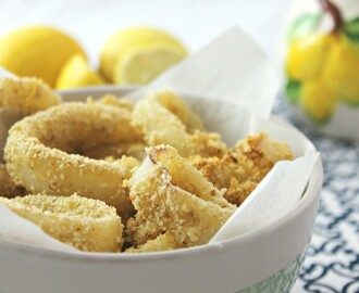 "Calamari ""fritti"" al forno, super light!"