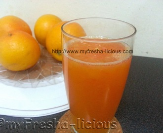 Summer Citrus Juice