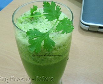 Detoxing with Coriander and Lemon