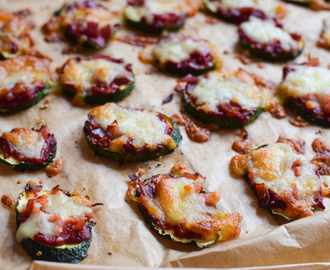 Leckerer Low Carb Pizza Snack