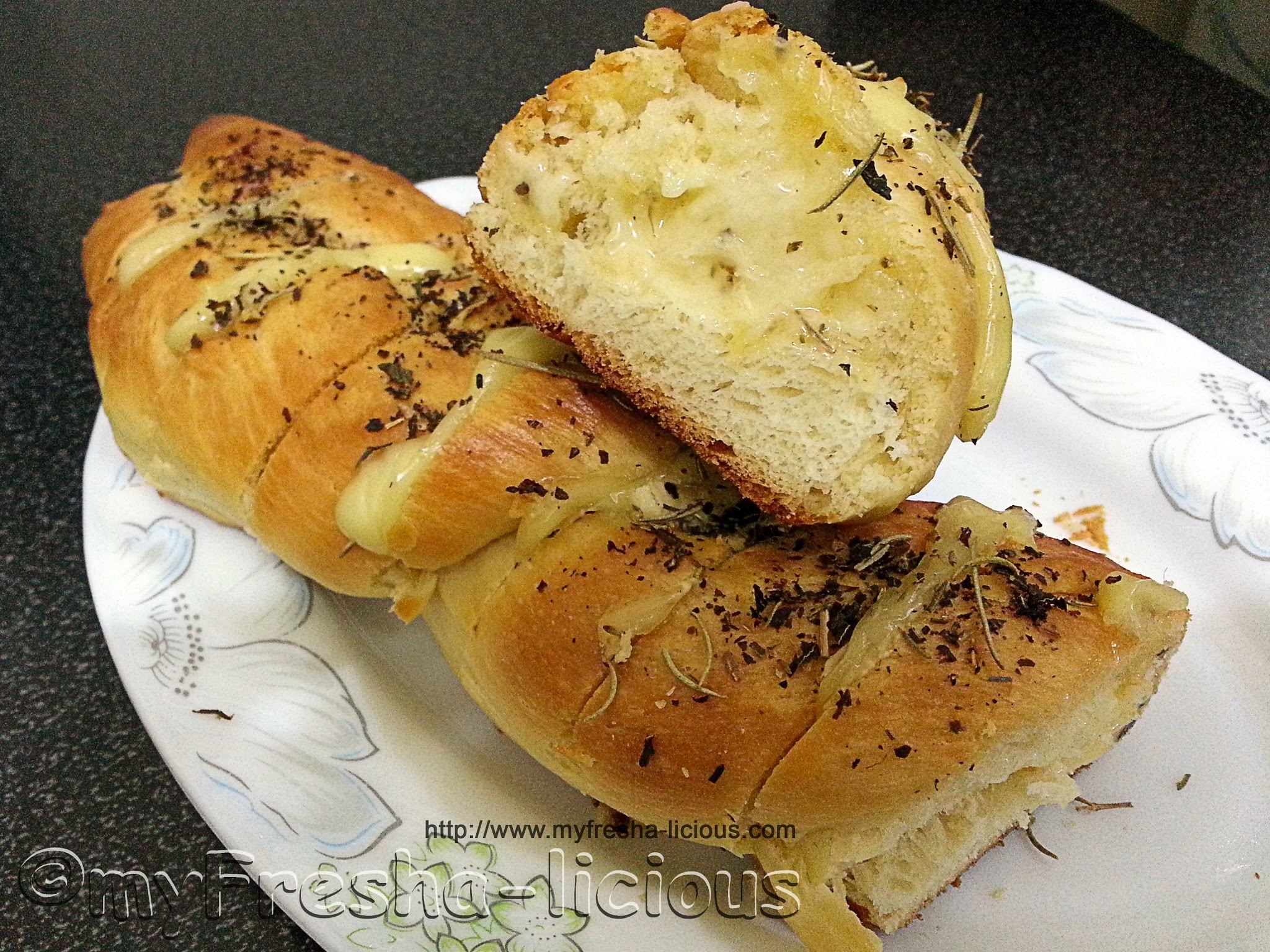 Cheesy Herb Bread