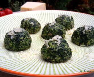 "Spinatbällchen ""Spinach Balls"" low carb"
