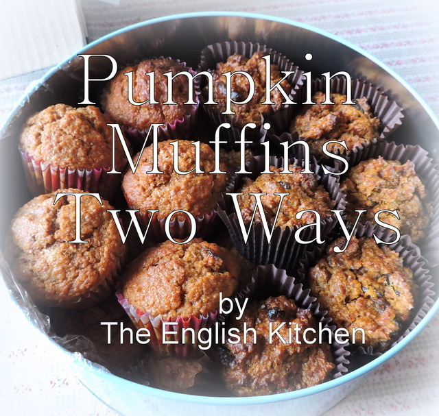 Pumpkin Muffins Two Ways, Diabetic Friendly