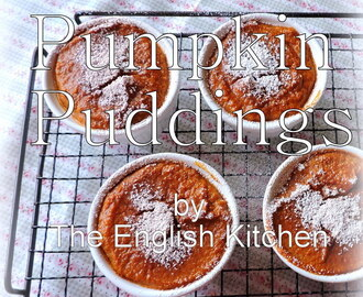 Pumpkin Puddings