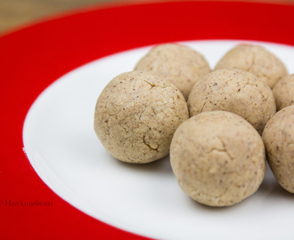 Gingerbread Protein Cookie Dough Balls