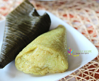Balisungsong (Steamed Rice in Banana Leaves)