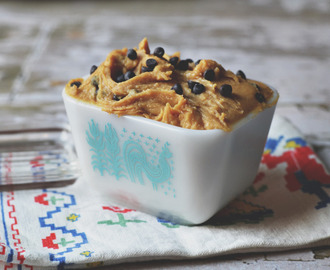 Healthy Vegan Protein filled Cookie Dough