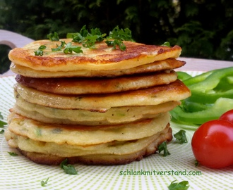 Zucchini-Pancakes low carb