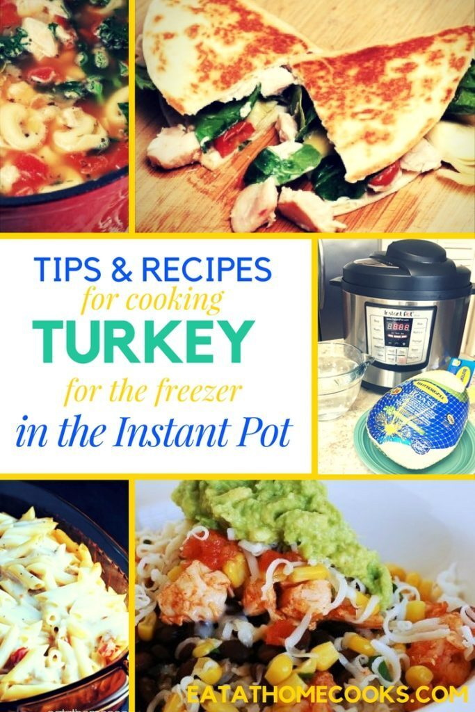 How to Cook Turkey for the Freezer in the Instant Pot Pressure Cooker