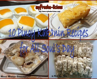 10 Filipino Native Delicacies for All Saints Day