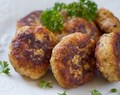 Chicken Kotleti (Russian-style Meatballs)