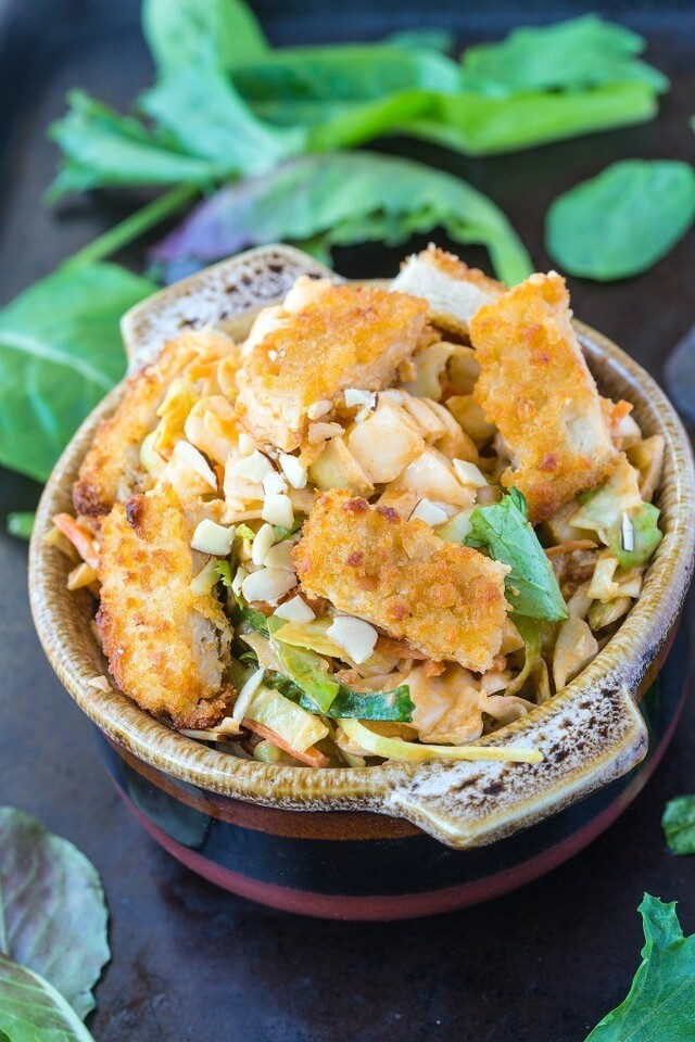 Vegan Asian Chicken Salad