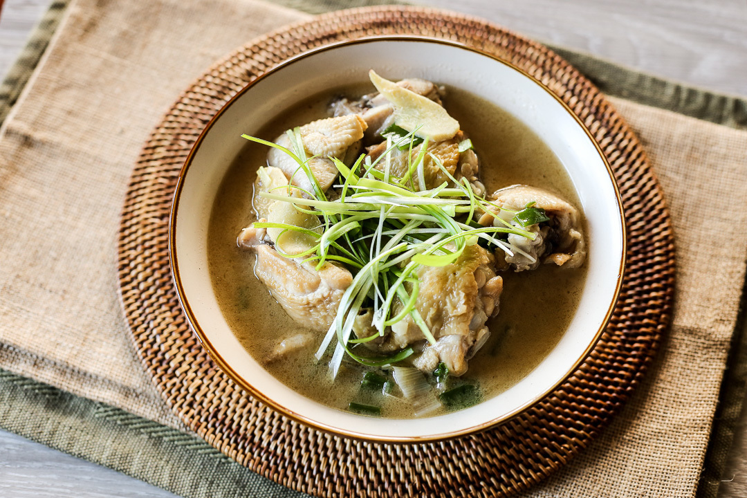 Taiwanese Sesame Oil Chicken Soup