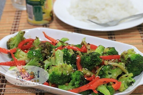 Spicy Broccoli Bell Pepper Stir-Fry Recipe