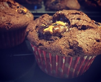 Choklad muffins med polly