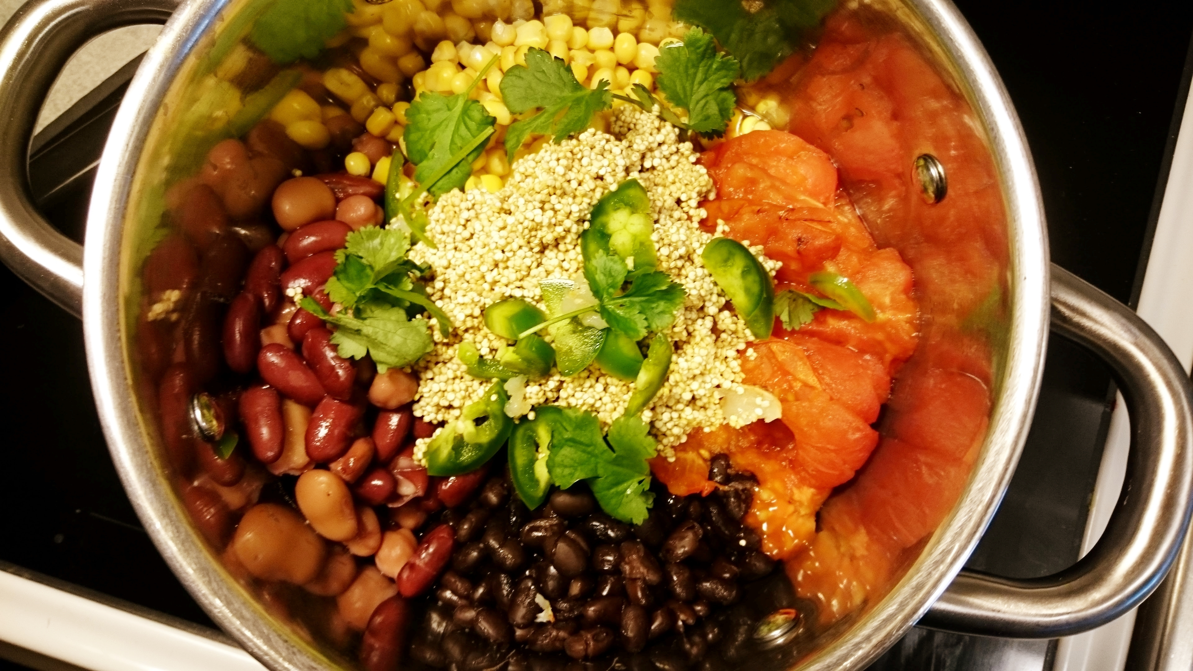 Vegan – one-pot-quinoa