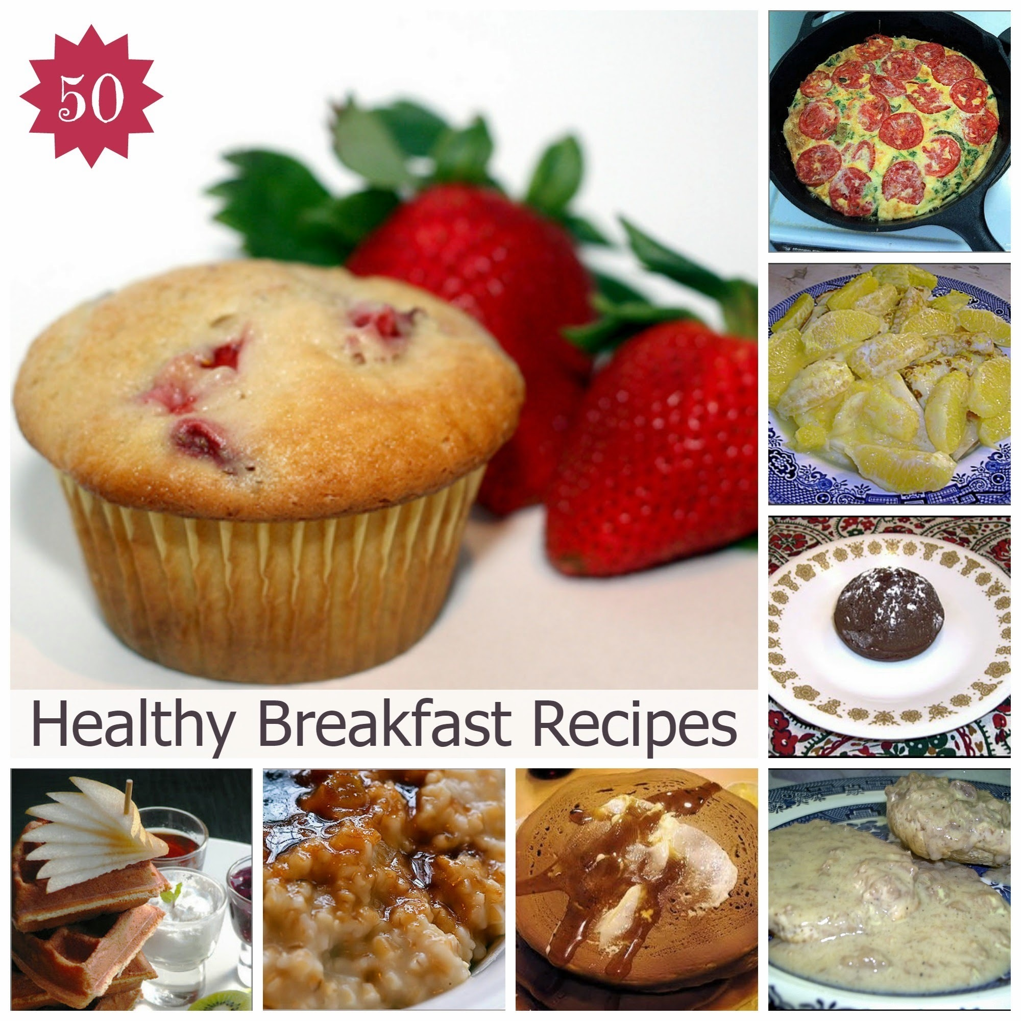 50 Healthy Breakfast Recipes To Lose Weight