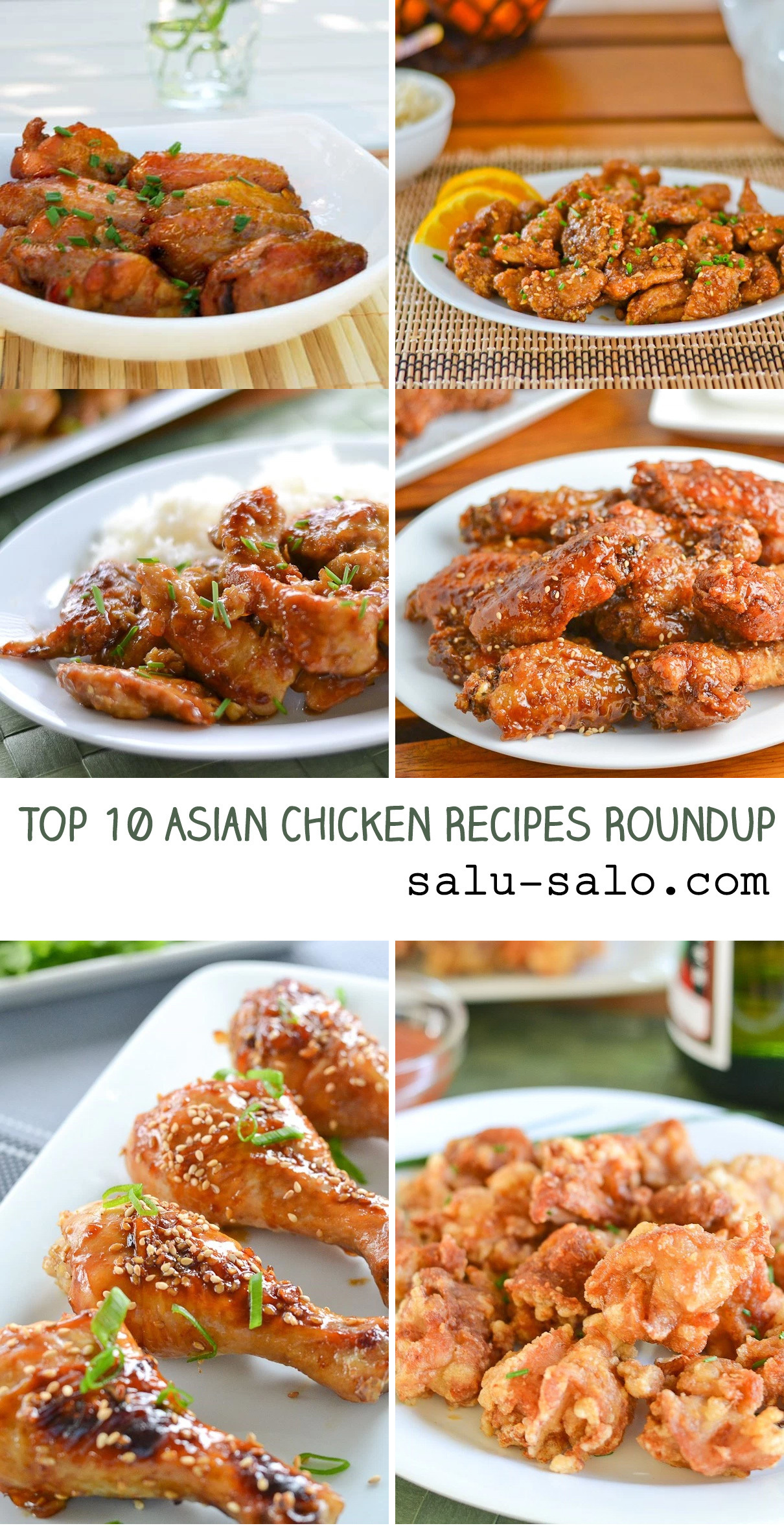 Asian Chicken Recipes Roundup – Top 10