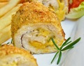 Garlicky Emmental and Rosemary Stuffed Chicken Roll-ups