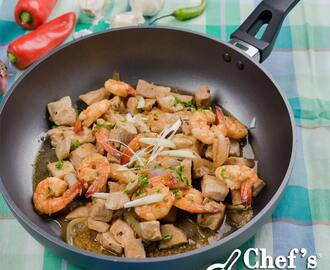 Tuna and Prawn Salpicao Recipe