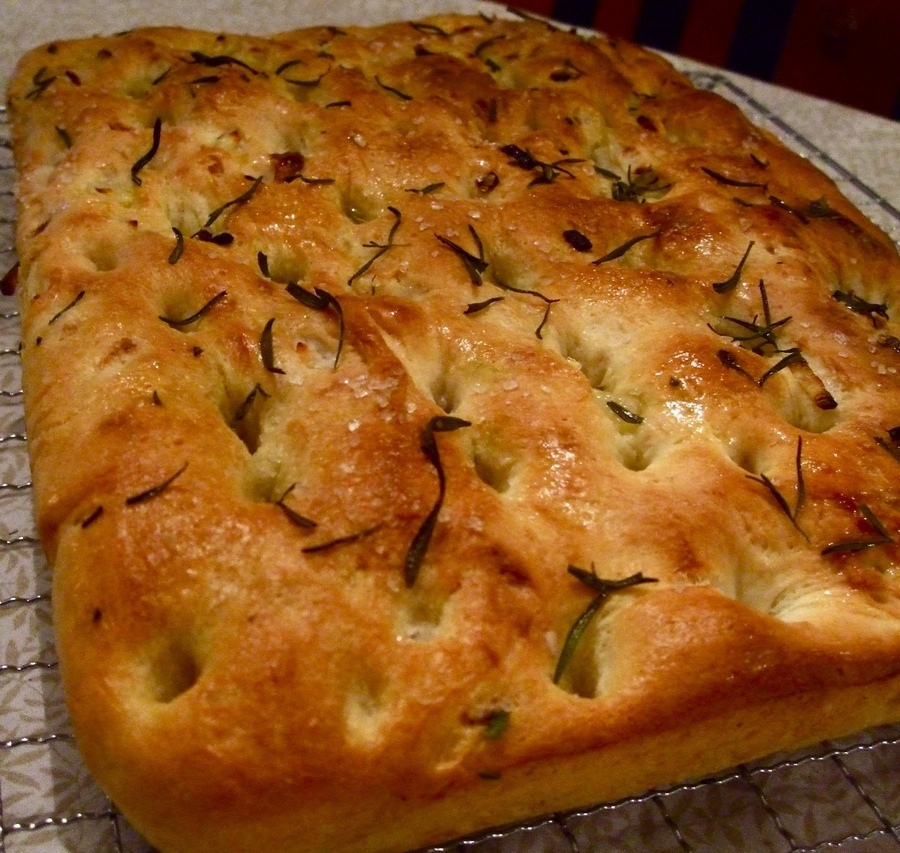 Pan focaccia alle patate
